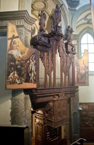 Wöckherl-Orgel aus 1642 - kathbild.at/Rupprecht